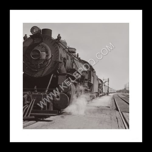 Photo d'époque locomotive n°13 - train à vapeur