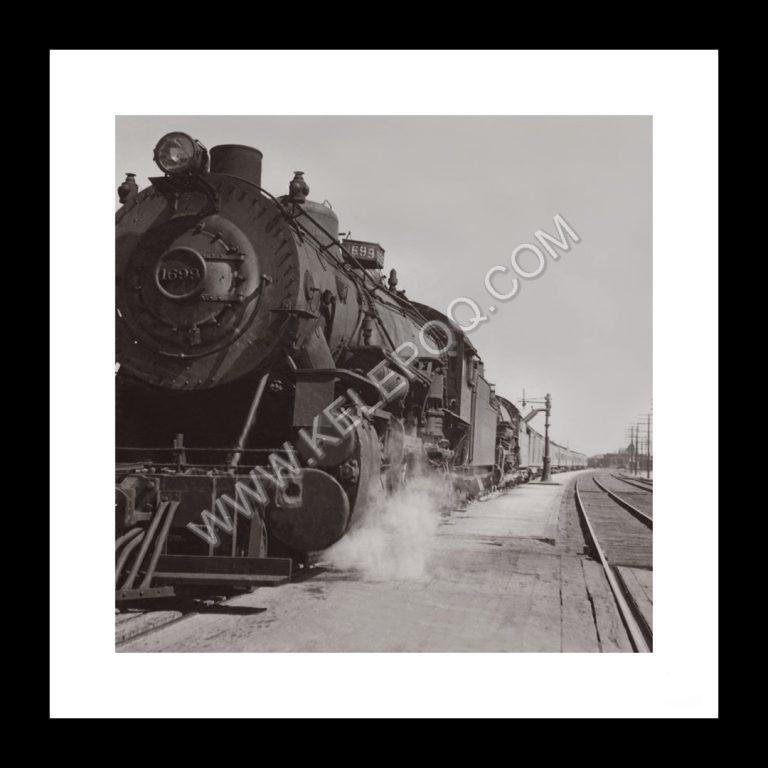 Photo d'époque locomotive n°13 - train à vapeur