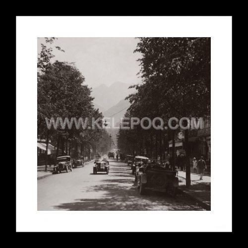 Photo d'époque Luchon n°02 - Luchon, rue d'Etigny