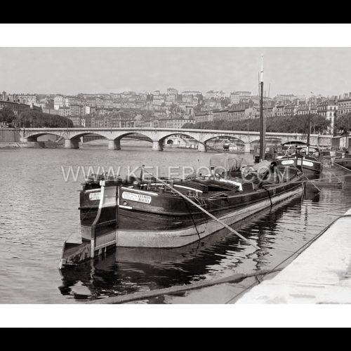 Photo d'époque Lyon n°04 - Pont du change