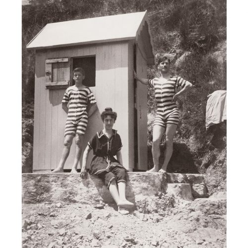 Photo d'époque Mer n°55 - Baigneurs