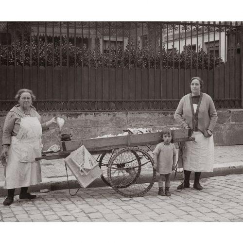 Photo d'époque commerce n°36 - marchands de poissons