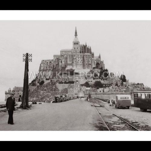 Photo d'époque Mont-Saint-Michel n°07