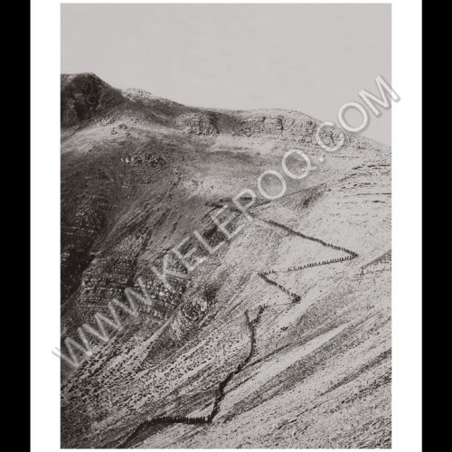 Photo d'époque Montagne n°99 - Chasseurs alpin montant col du Crachet