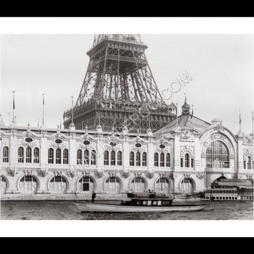 Photo d'époque Paris n°22 - Tour Eiffel Exposition Universelle 1900