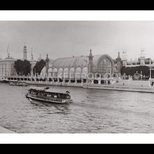 Photo d'époque Paris n°23 - Serres de Paris Exposition Universelle 1900