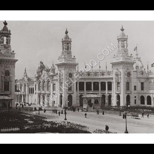Photo d'époque Paris n°24 - Esplanade des Invalides, Exposition Universelle de Paris 1900