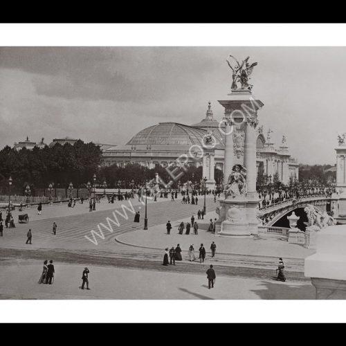 Photo d'époque Paris n°25 - Grand Palais - Pont Alexandre III - Paris