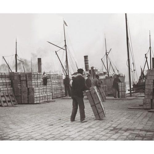 Photo d'époque pêche n°80 - port de pêche