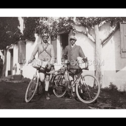 Photo d'époque cylces n°45 - Cyclistes
