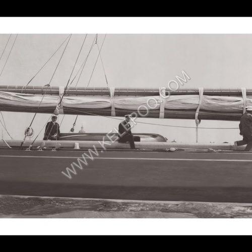 Photo d'époque sur l'eau n°46- Escale à Portsmouth