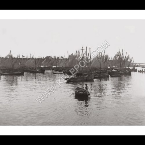Photo d'époque Concarneau n°01 - le port