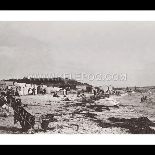 Photo d'époque Concarneau n°02 - la plage