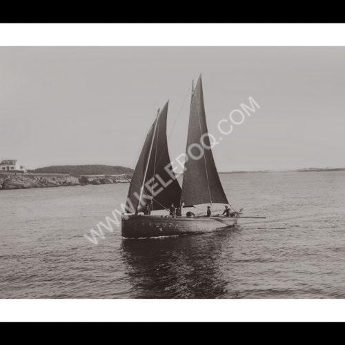 Photo d'époque Concarneau n°04 - entrée dans le port