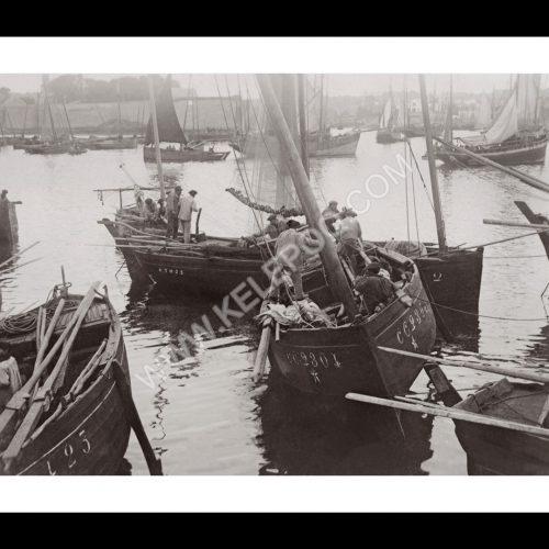 Photo d'époque Concarneau n°05 - le port