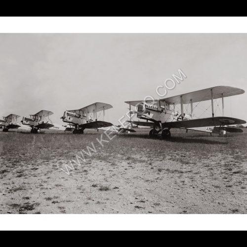 Photo d'époque dans les airs n°24 - armée française