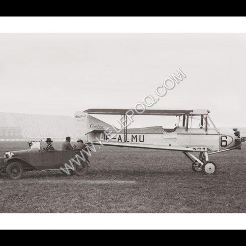 Photo d'époque dans les airs n°23 -Concours des avions de tourisme - Orly