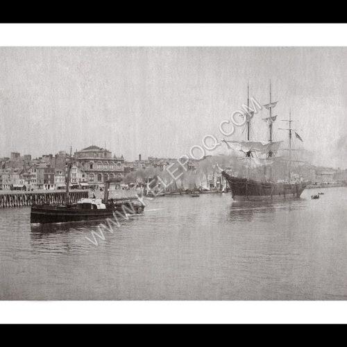 Photo d'époque Havre n°07 - l'avant port - Le Havre