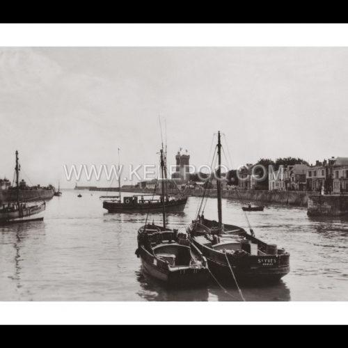 Photo d'époque Les Sables-d'Olonne n°11 - Le Port
