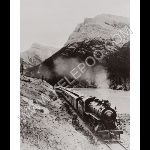 Photo d'époque locomotive n°14