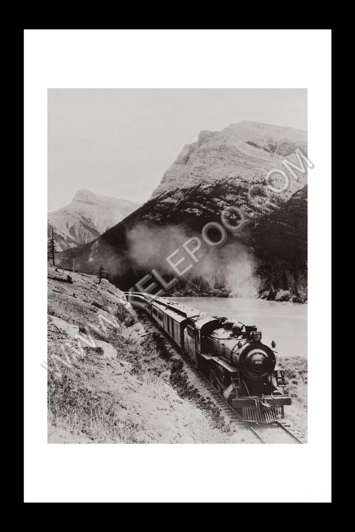 Photo d'époque locomotive n°14