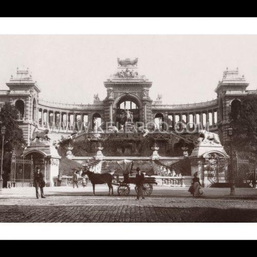 Photo d'époque Marseille 14 - Palais de Longchamps