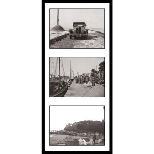 Photo d'époque Noirmoutier n°12 - triptyque