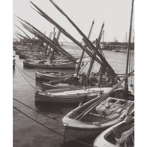 Photo d'époque sur l'eau n°48 - vieux gréement dans le le port
