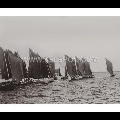 Photo d'époque sur l'eau n°49 - Régates - Concarneau