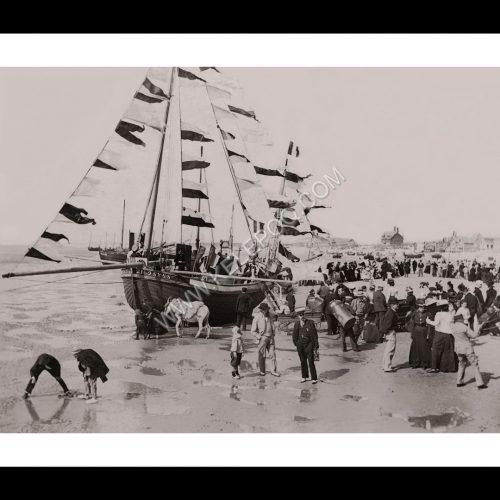 Photo d'époque Boulogne n°03 - fête de la mer - Bénédiction