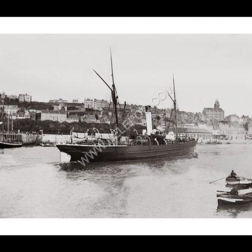Photo d'époque Boulogne n°04 - port de Boulogne