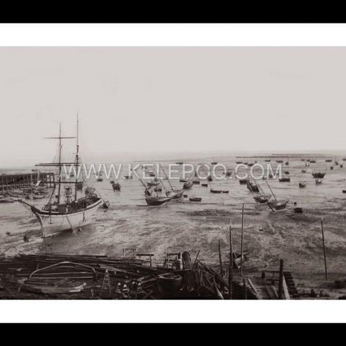 Photo d'époque Cancale n°03 - le port en 1901