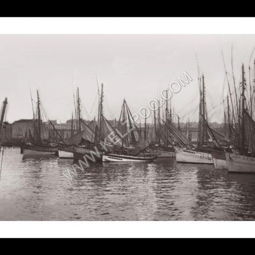 Photo d'époque Concarneau n°06 - le port en 1919