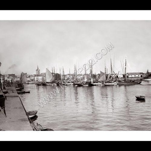 Photo d'époque Les Sables-d'Olonne n°12 - le port