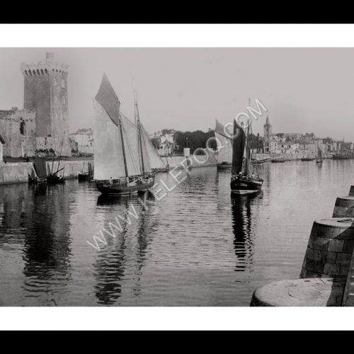 Photo d'époque Les Sables-d'Olonne n°13 - le Port