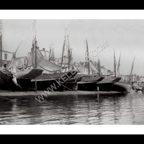 Photo d'époque Les Sables-d'Olonne n°15 - le Port en 1900
