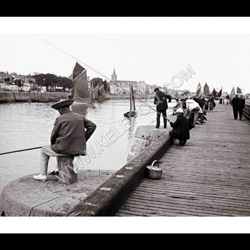 Photo d'époque Les Sables-d'Olonne n°16 - le Port