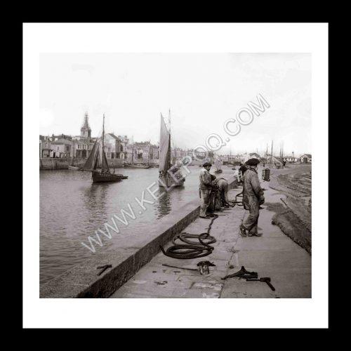 Photo d'époque Les Sables-d'Olonne n°18 - le Port