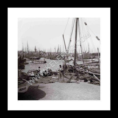Photo d'époque Les Sables-d'Olonne n°19 - le Port