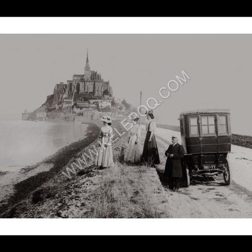 Photo d'époque Mt-St-Michel n°08 - Mont-Saint-Michel