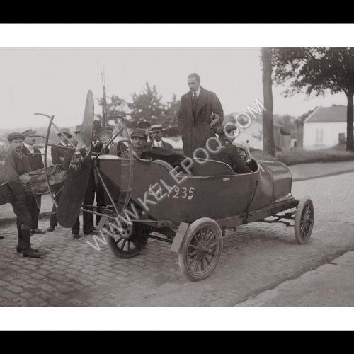 Photo d'époque automobile n°74 - Auto à hélice - Photographe Maurice-Louis Branger