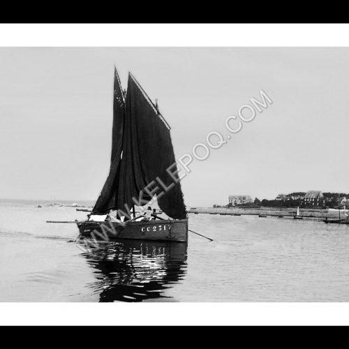 Photo d'époque Concarneau n°07 - quartier et plage Coat-Pin