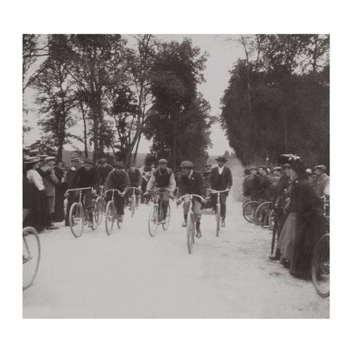 Photo d'époque Cycles n°47 - course cycliste