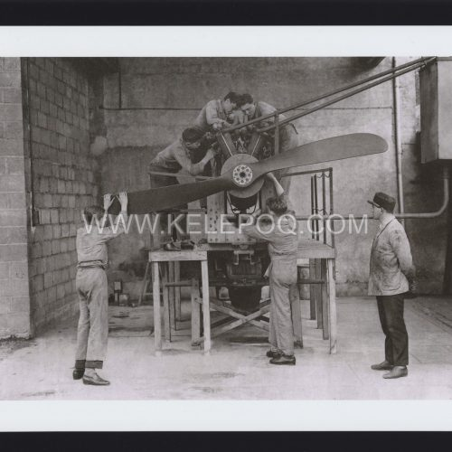 Photo d'époque Dans les airs n°25 - Ecole de mécanique aéronautique