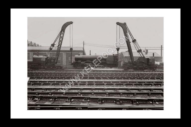 Photo d'époque Locomotive n°16 - photographe Victor Forbin