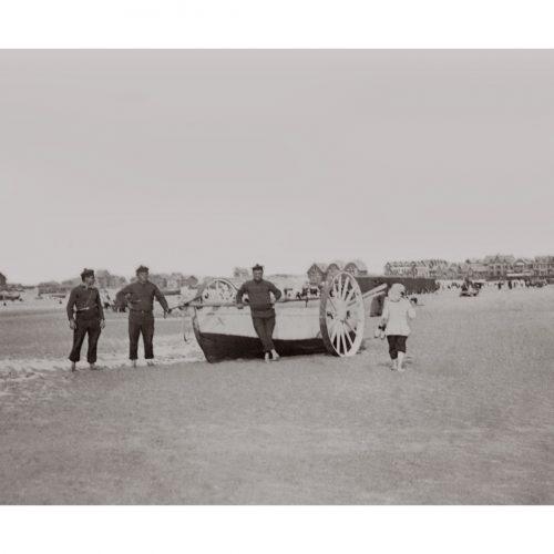 Photo d'époque Mer n°71 - bateau de sauvetage en mer