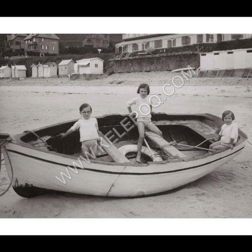 Photo d'époque Mer n°72 - Plage de Trestignel à Perros-Guirec