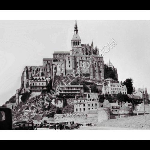 Photo d'époque Mont-Saint-Michel n°10