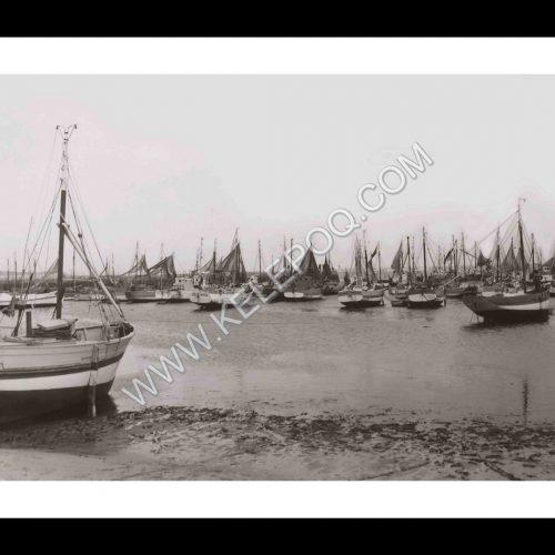Photo d'époque Oléron n°01 - Port de la Cotinière