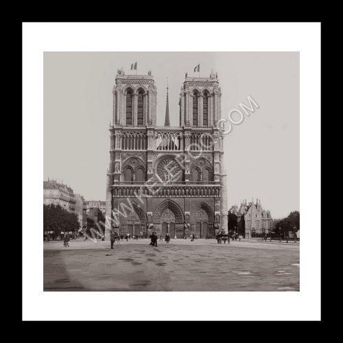 Photo d'époque Paris n°33 - Notre Dame de Paris